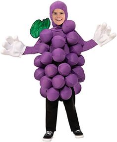 Forum Novelties Purple Grapes Costume, One Size -- Click on the image for additional details.