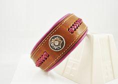 Sedona Leather Collar with Kangaroo Braided Leather