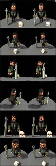 Dude Voxel by Dillerkind                                                                                                                                                     More