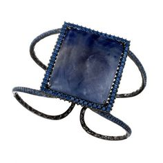 Roseark - Shop by Product: Sapphire Slice Cuff