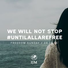 How to make sure your church is a very real part of ending slavery forever! http://www.ijm.org/freedom-sunday
