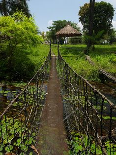 Nsele bridge (by Nick Hobgood)  Nsele, Democratic Republic of Congo