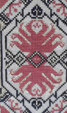 Cross Stitch Art, Counted Cross Stitch Patterns, Embroidery Patterns Free, Diy Projects To Try, Needlework, Bohemian Rug, Diy Crafts, Elsa, Knitting