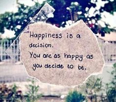 Happiness Quote.&.Receive