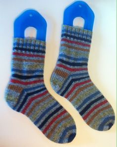 Vanilla Socks out of Patons Kroy. Love this yarn!!!