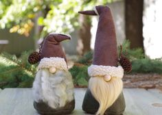 NORGRIM the WANDERER Nordic Forest Gnome 10 Tall by TheGnomeMakers