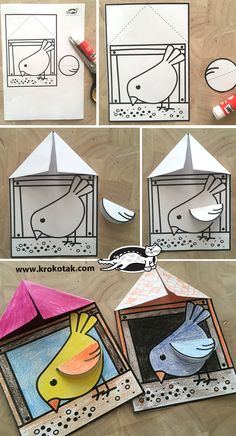 Bird Feeder - You are in the right place about winter crafts Here we offer you the most beautiful pictures about - Kids Crafts, Craft Kits For Kids, Winter Crafts For Kids, Diy Crafts Videos, Spring Crafts, Toddler Crafts, Preschool Crafts, Art For Kids, Activities For Kids