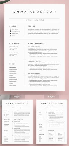 27 Simple & Clean CV / Resume Templates with Cover Letters Word Resume & Cover Letter Modern Resume Template, Resume Template Free, Professional Cv Template Free, Free Design Templates, Free Creative Resume Templates, Professional Resume Design, Design Brief Template, Best Cv Template, Business Resume Template