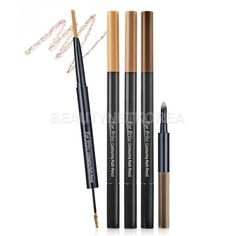 ETUDE HOUSE Eyebrow Contouring Multi Pencil 4 Color in Choco Black