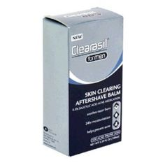 I'm learning all about Clearasil Skin Aftershave Balm at @Influenster! @clearasil