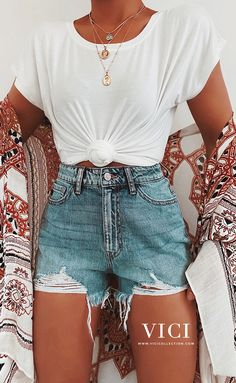 Trendy Summer Outfits, Cute Comfy Outfits, Pretty Outfits, Stylish Outfits, Teenage Outfits, Teen Fashion Outfits, Outfits For Teens, Girl Outfits, 80s Fashion