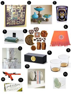 Elements of Style Blog | Gift Guide 2012: For the Home | http://www.elementsofstyleblog.com