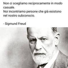 Foto di Instagram di Carlo Vaporetti • 31 luglio 2019 alle ore 13:24 Wise Quotes, Faith Quotes, Great Quotes, Words Quotes, Freud Psychology, Psychology Quotes, Italian Phrases, Italian Quotes, Sigmund Freud