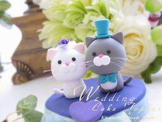 Wedding Cake Topper-love cat,love kitty | Flickr - Photo Sharing!