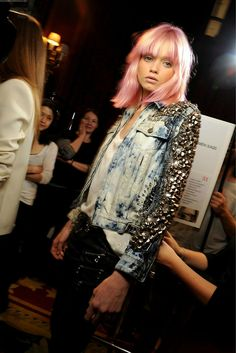 lets bedazzle our jean jackets from the last few years