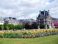 Jardin Des Tuilleries, Paris, France--you can forget you are in the middle of a huge, bustling city in this gorgeous place.