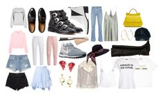 """""""Wish List"""" by natalia-b-16 ❤ liked on Polyvore featuring Gucci, Givenchy, Vetements, Acne Studios, NIKE, Dricoper, Alexander Wang, Narciso Rodriguez, J.W. Anderson and Rosie Assoulin"""