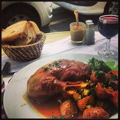Chez Paul in Paris, Île-de-France $ Dandelion Salad, David Lebovitz, Paris Itinerary, Bistros, French Food, Poached Eggs, Diners, Crisp, Seafood