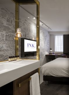 INK hotel Amsterdam - Holland | wallcovering +Print