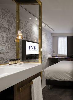 INK hotel Amsterdam - Holland | wallcovering +Print