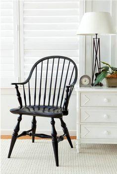 Windsor chair - baaaardzo! muszę kiedyś je mieć, no proszę...