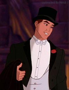 *DIMITRI ~ Anastasia, looking smashing in his tux Dimitri Anastasia, Rasputin, Disney Animation, Dreamworks, Joker, Movies, Fictional Characters, Cartoons, Icons