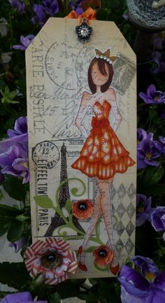 Get Well Soon Tag by Stamp_Girl - Cards and Paper Crafts at Splitcoaststampers