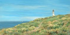 Anacapa Lighthouse Study Print By Tina Obrien