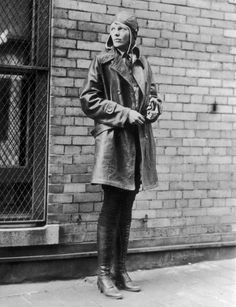 Queen of the Air :: Amelia Earhart-always a solid halloween costume idea