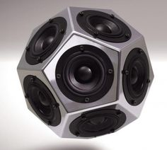 Solid Acoustics dodecahedron speakers