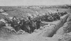 Gallipoli - Cleaning Up After Coming Down From The Trenches At Suvla