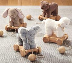 Plush Pull Toy | Pottery Barn Kids