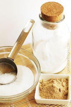 Ginger Detox Bath Soak -  Easy Kitchen Supplies