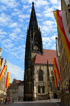 Münster, Germany. Lambertikirche