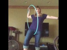 Continuous Step Through Hoop Tutorial - YouTube