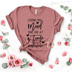 Losing My Mind One Kid At A Time svg Momlife SVG Mom svg | Etsy Funny Mom Quotes, Girl Reading, Lose My Mind, Silhouette Designer Edition, I Work Out, Mom Humor, Silhouette Studio, Bible Verses, Mindfulness