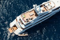 Sneak peek at #Benetti's #Ocean #Paradise before Monaco #Yacht Show