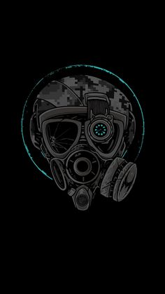 Gas Mask Cool Wallpaper Backgrounds Ios Wallpapers Cell Phone Hipster