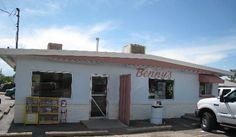 Bosque Farms, New Mexico (near Albuquerque) - Benny's Mexican Kitchen.  Try th egreen chile cheeseburger. 1675Bosque Farms Blvd. Bosque Farms, NM. 87068