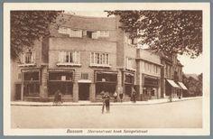 Heerenstraat hoek Spiegelstraat. Stempel 1927