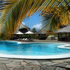 Crystal bay swimming pool. Kenya, Watamu.