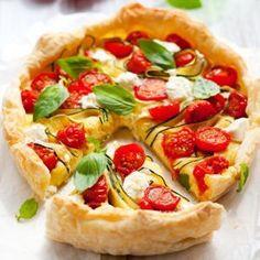 Bon appétit - Recette estivale #quiche