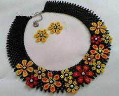 Diy Necklace Patterns, Beaded Jewelry Patterns, Diy Crochet Bag, Beaded Bags, Bead Weaving, Beaded Necklace, Necklaces, Jewelry Accessories, Handmade Jewelry