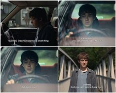 The End of the F***ing World - ) quote Tv Show Quotes, Film Quotes, Book Quotes, Funny Quotes, The End, End Of The World, Tv Shows 2017, 2017 Quotes, Movie Dialogues