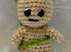 Baby Groot Keyring Free Pattern – Handmade Crochet Amigurumi – Beejui Creations Crochet Keyring Free Pattern, Crochet Patterns Amigurumi, Hand Crochet, Crochet Hooks, Baby Blanket Crochet, Crochet Baby, Magic Circle Crochet, Boyfriend Crafts, Craft Stick Crafts