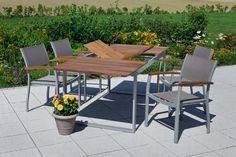 Merxx Gartenmöbel-Set Naxos Set 5 tlg., Ausziehtisch ähnliche tolle Projekte und Ideen wie im Bild vorgestellt findest du auch in unserem Magazin . Wir freuen uns auf deinen Besuch. Liebe Grüße Mimi