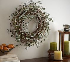 Harvest Olive Wreath | Pottery Barn