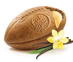 Eat the Ball® American Football multi boosted vanilla. Bread of a new Generation. One Ball One Game! American Football, First Game, Bread, Vanilla, Outdoor Food, Football, Breads, Sandwich Loaf