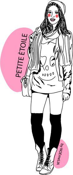 #ilustracion de #moda #ilustracionmoda NOEmeLIA