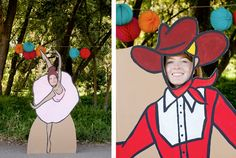 Cardboard Photo Cutouts